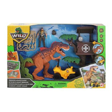 Wild Quest Treehouse Assault Playset