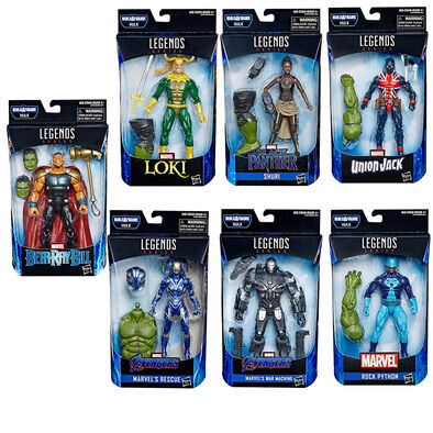 Marvel Legends Series Avengers Endgame 6 Inch Figure Build-a-Figure Hulk - Assorted