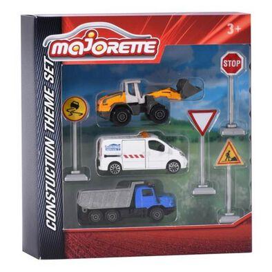 Majorette Construction Theme Set