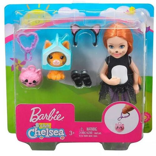 Barbie Club Chelsea Doll and Playset - Assorted