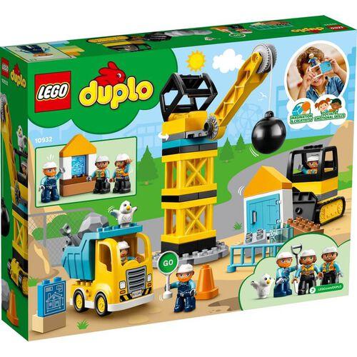 LEGO Duplo Town Wrecking Ball Demolition 10932