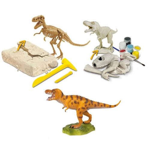 Uncle Milton Dr. Steve Hunters Tyrannosaurus Rex Multi-Activity Kit