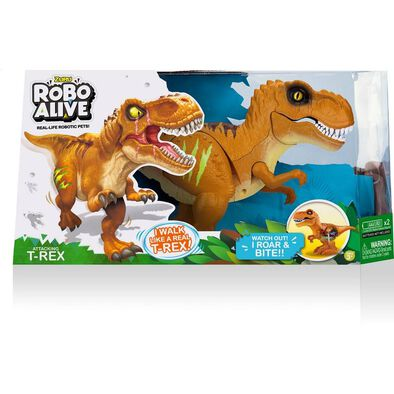 Zuru Robo Alive Attacking T-Rex - Assorted
