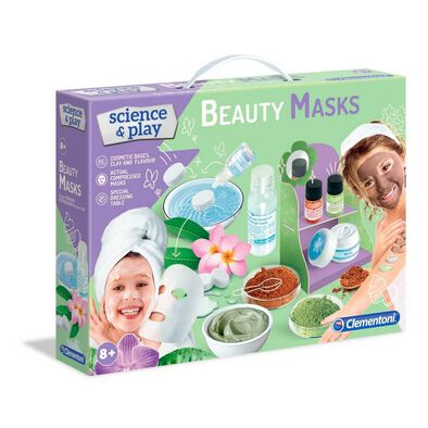 Clementoni Science & Play Beauty Masks