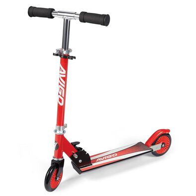 Avigo Folding Scooter (Red)
