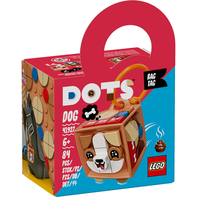 LEGO Dots Bag Tag Dog 41927