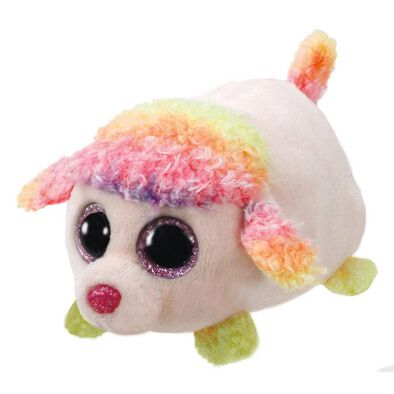 Ty Teeny 4 Inch Floral The Multicolor Poodle