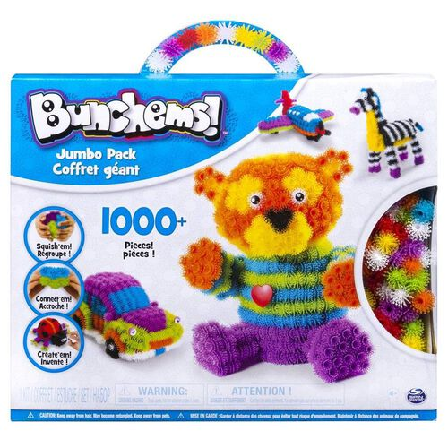 Bunchems! Jumbo Pack With Over 1000 Pieces