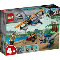 LEGO Jurassic World Velociraptor: Biplane Rescue Mission 75942
