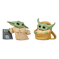 Star Wars The Bounty Collection Series 2 The Child Toys Speeder Ride, Touching Buttons 2 Pack