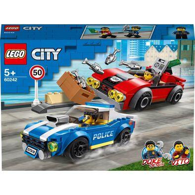 LEGO City Police Highway Arrest 60242