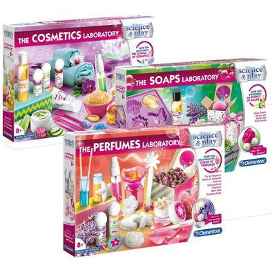 Clementoni Girls Scientific Cosmetics