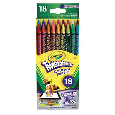 Crayola 18Ct Twistables Colored Pencils