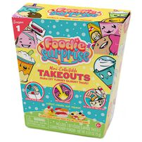 Smooshy Mushy Foodie Surprise Take Out Sweet Making Kit And Mystery Character