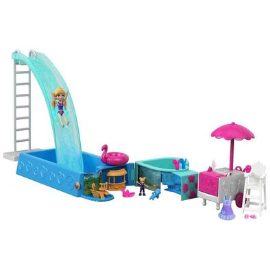 Polly Pocket Splashtastic Pool Surprise