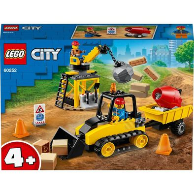 LEGO City Construction Bulldozer 60252