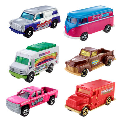 Matchbox Candy-Themed Vehicles - Assorted