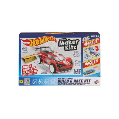 Hot Wheels Maker Kitz Single Car Red - Assorted