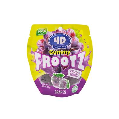 4D Gummy Fruit Grapes