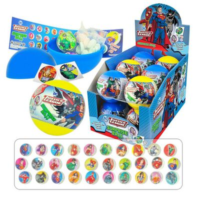 DC Comics Justice League Surprise Ball With Candy