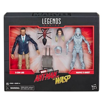 Marvel Legends Series 80th Anniversary X-Con Luis And Marvel's Ghost