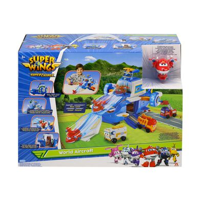 Super Wings World Aircraft Playset