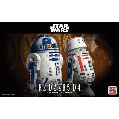 Star Wars 1/12 R2-D2 and R5-D4
