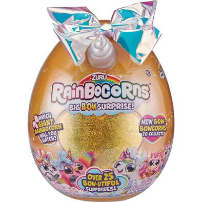 Zuru Rainbocorns Plush Big Bow Surprise