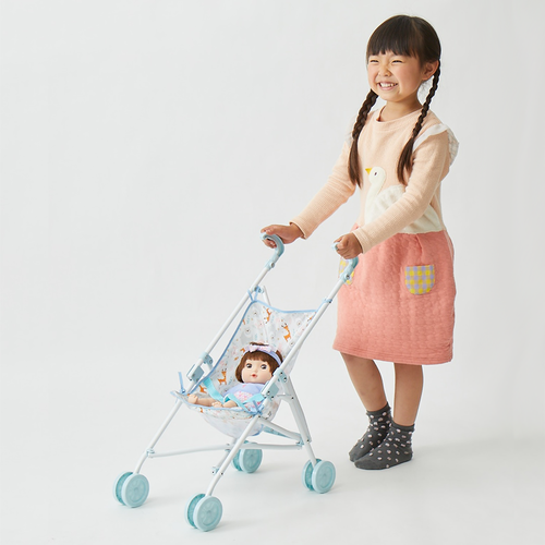 Baby Blush Baby Stroller Forest Friends (Teal & White)