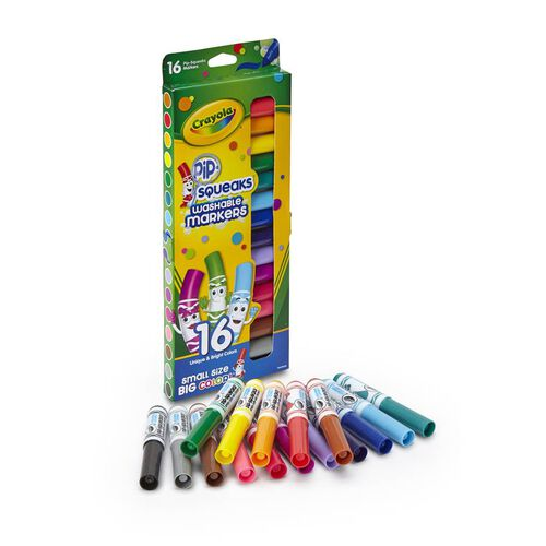Crayola 16Ct Pip Squeaks Makers