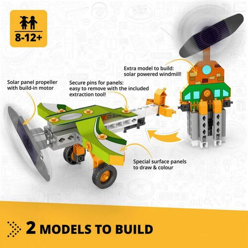 Engino Academy Of STEAM Solar Plane