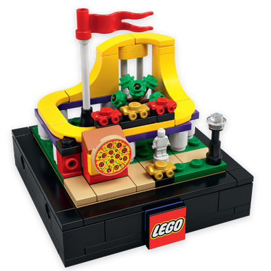 LEGO 2020 Bricktober Roller Coaster - Not Available For Separate Sale