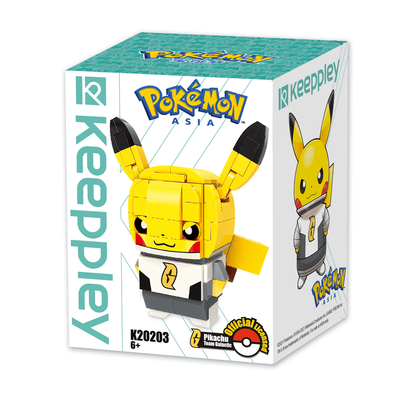 Qman Keeppley Pokémon Kuppy Pikachu Team Galactic