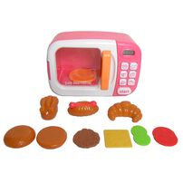 Just Like Home Microwave - Pink