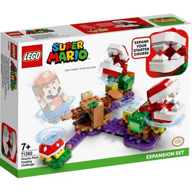 LEGO Super Mario Piranha Plant Puzzling Challenge Expansion Set 71382