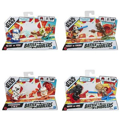 Star Wars Battle Bobblers 2 Pack - Assorted