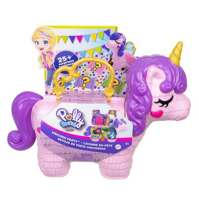 Polly Pocket Polly Pocket Unicorn Party Playset