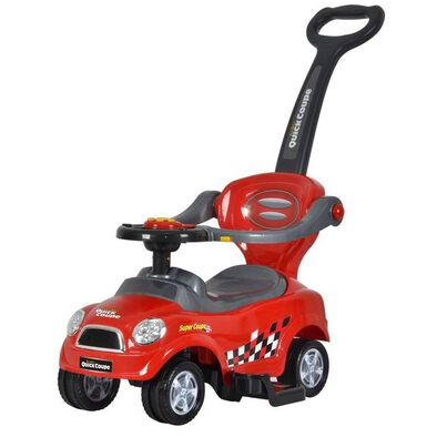 Chi Lok Bo 3-In-1 Easy-Wheel Ride-On Car - Assorted