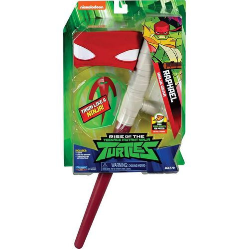 Rise Of The Teenage Mutant Ninja Turtles Raphael Ninja Gear