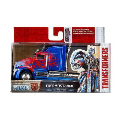 Metals Die Cast Transformers 1:32 Western Star Optimus Prime