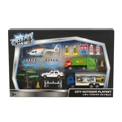 Speed City Outdoor Playset