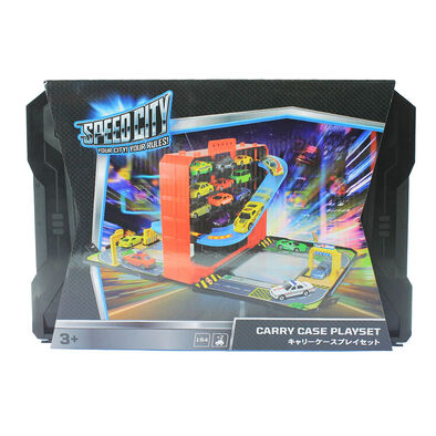 Speed City Carry Case Playset